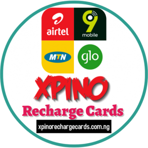 Xpino Recharge Cards, Universal Recharge Cards, MTN, Glo, 9mobile Airtel, Networks, PIN, Nigeria, Precious Ikpoza,Xpino Systems Solutions, airtime pins, vtu business, data